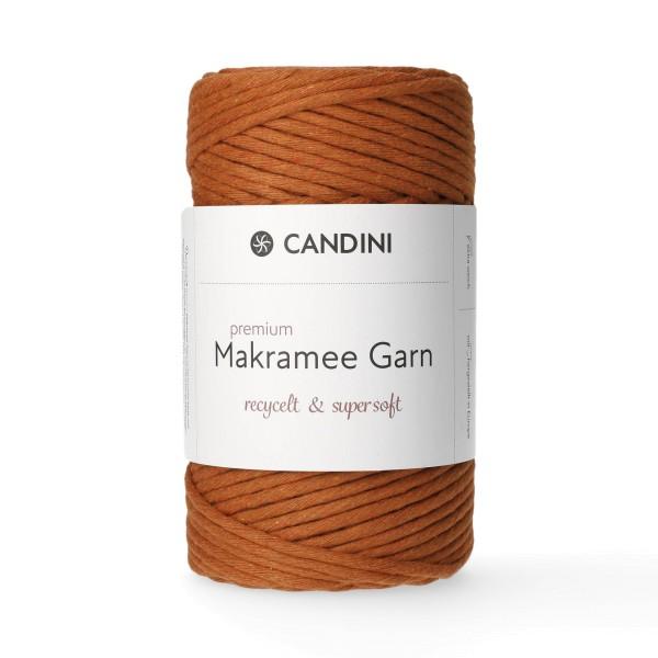 Premium Makramee Garn, 4mm, gezwirnt - kupfer